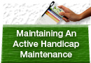 Maintaining An Active Handicap Status